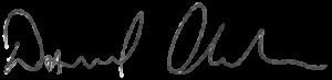 David's signature